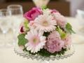 結婚式テーブル花